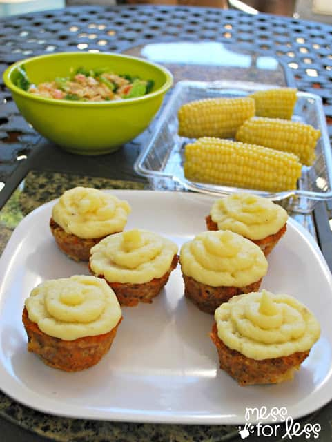Italian Meatloaf Cupcake Recipe