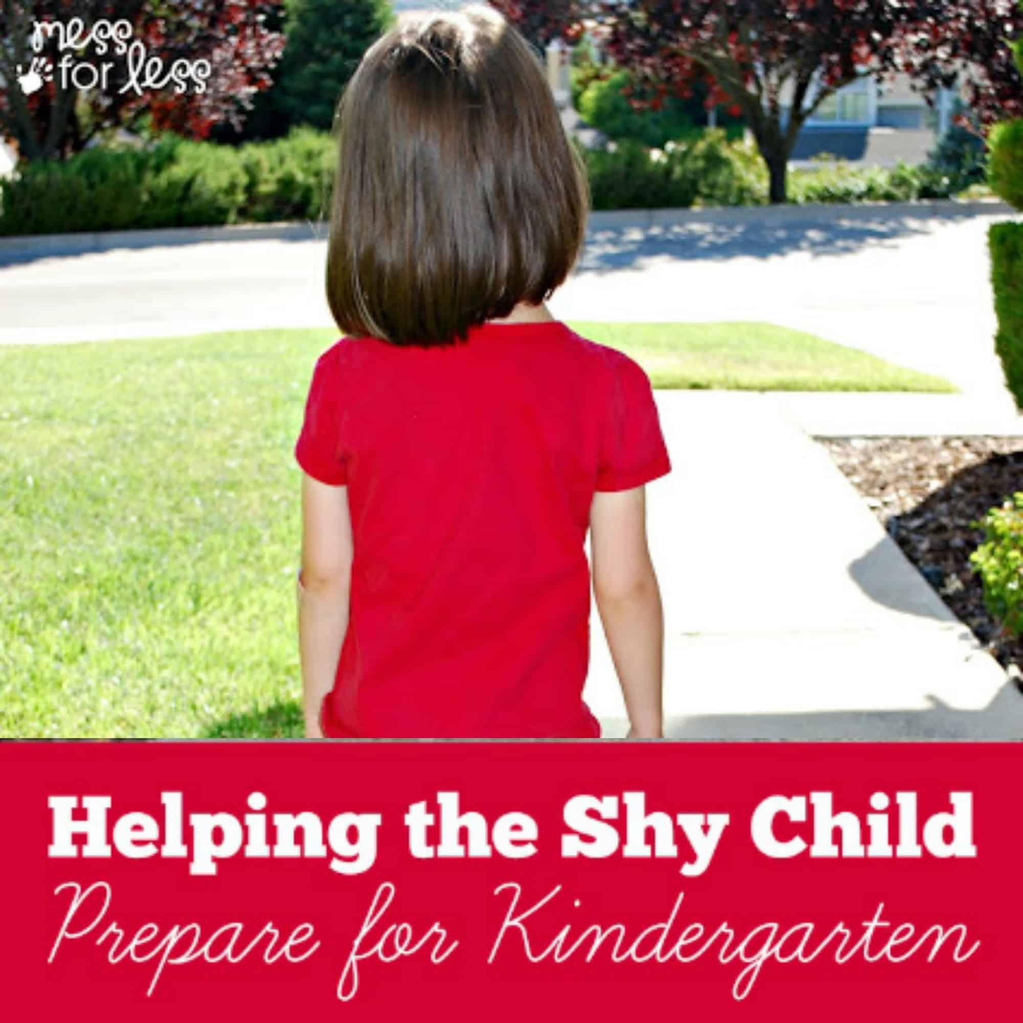 Helping the Shy Child Prepare for Kindergarten
