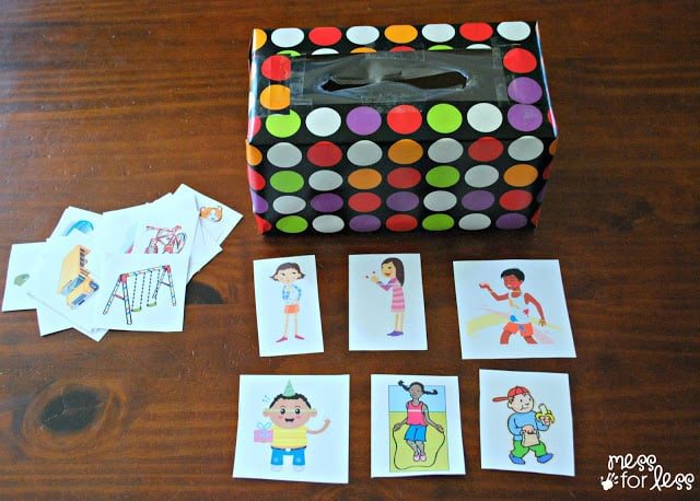 Story box with story cards