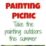 Painting Picnic – Guest Post from Imprints From Tricia