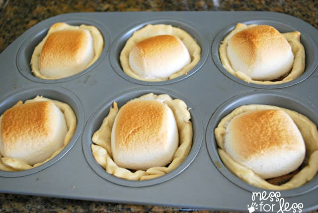 Individual S'more pies
