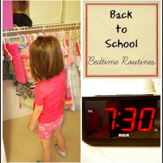 Establishing a Bedtime Routine for Back to School – Get Ready For K Through Play