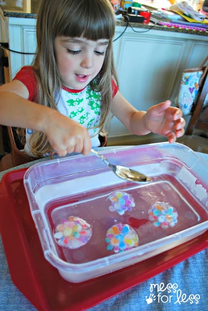 water beads activity