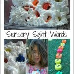 Sensory Sight Word Games – Get Ready for K Through Play