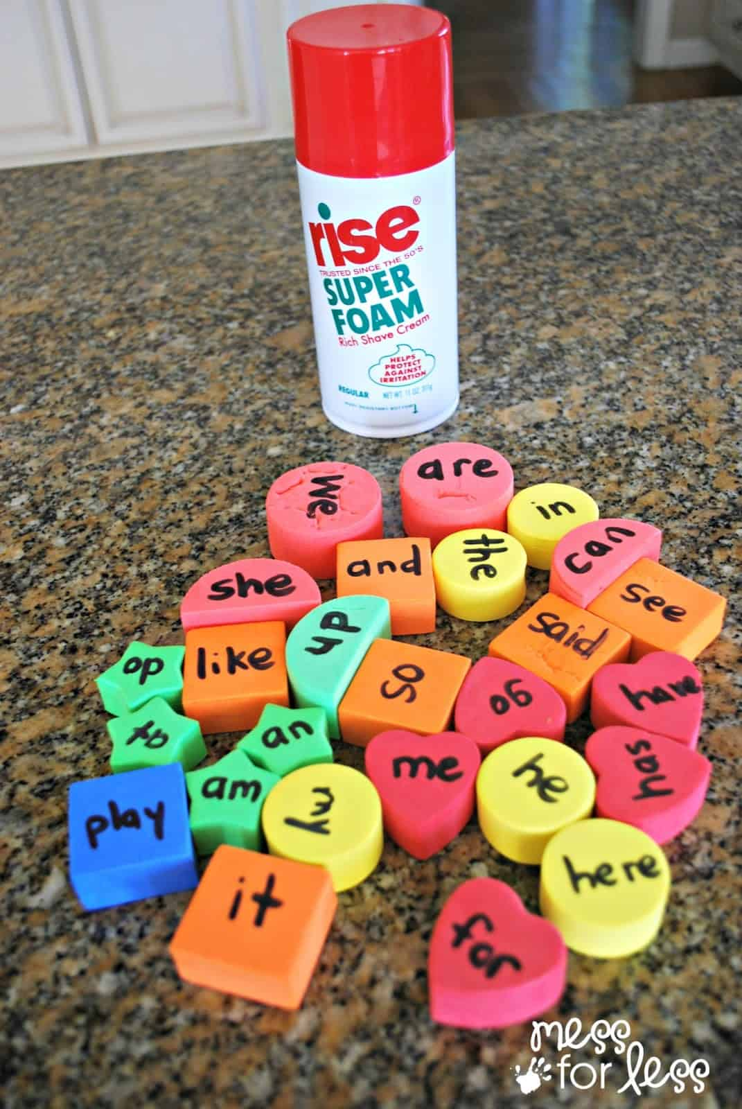Sensory Sight Word Games Get Ready For K Through Play