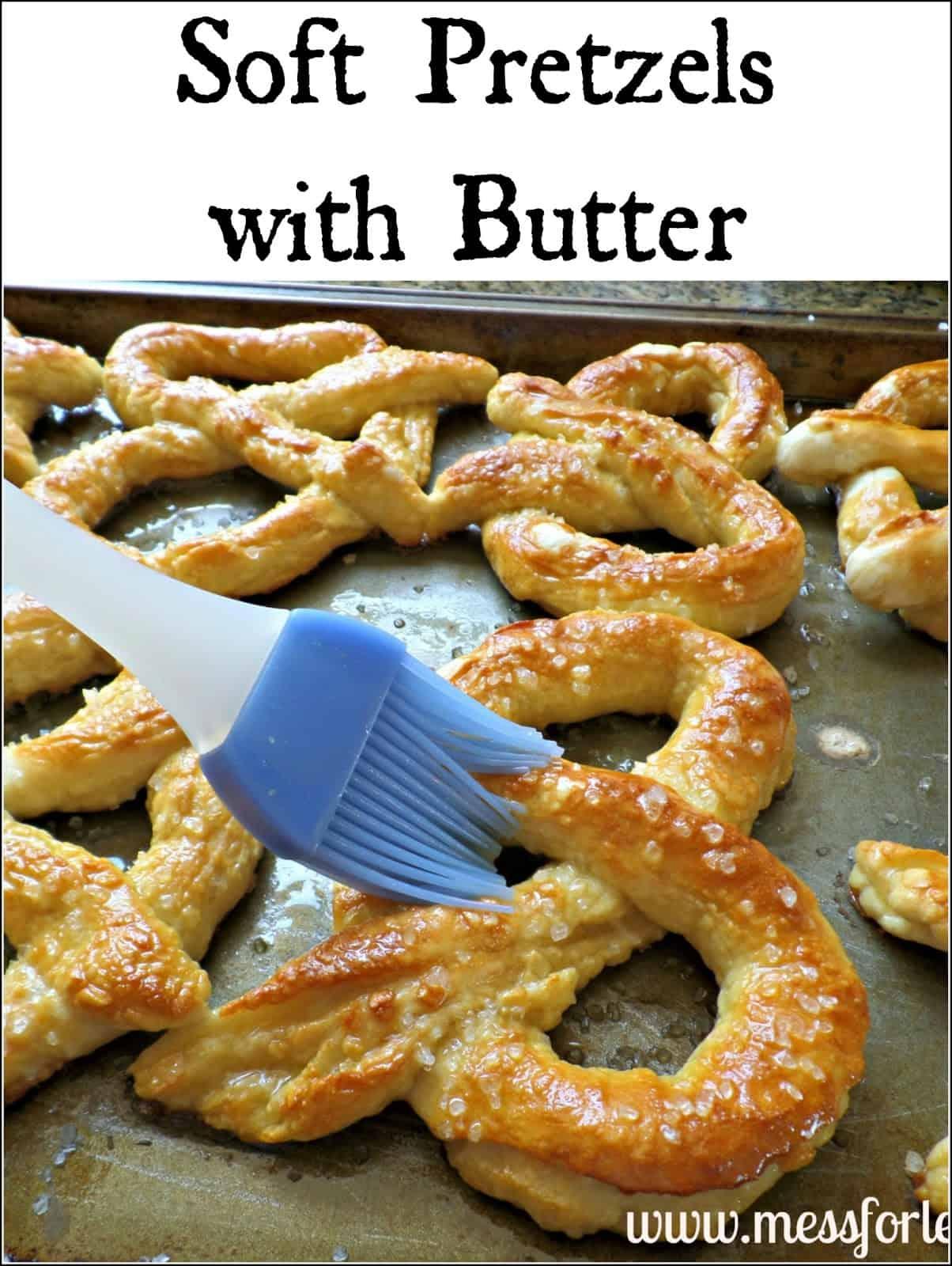 Soft Pretzels Recipe — Dishmaps