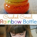Crushed Cereal Rainbow Bottle
