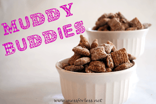 Muddy Buddy Recipe, #recipe