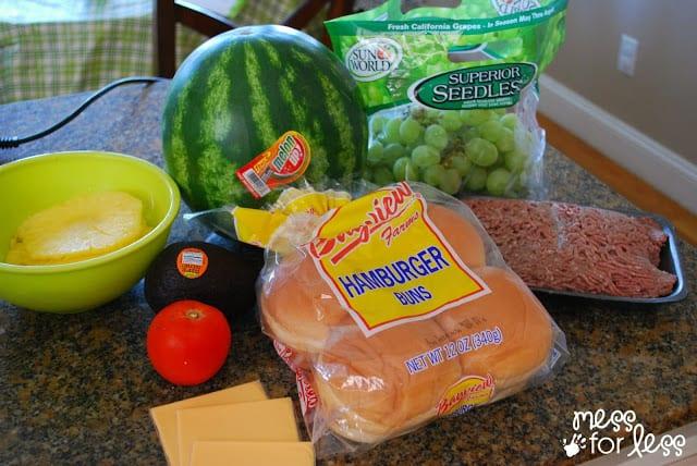 Watermelon from Lucky Super Market #shop