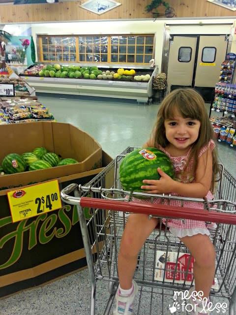 Shopping at Lucky Supermarket #shop