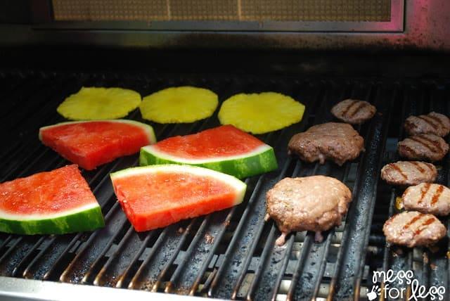 Summer BBQ using fresh finds. #shop