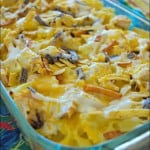 Ranch Chicken and Pasta Bake