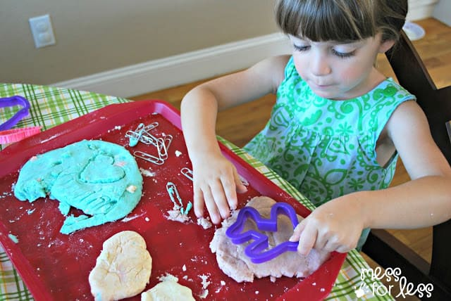 fun with lotion dough