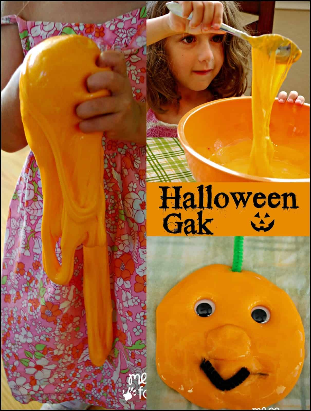 Halloween Gak Fall Sensory Play Mess For Less