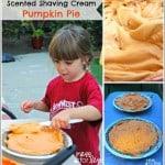 Scented Shaving Cream Pumpkin Pie