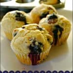 Easy Blueberry Muffins – Food Fun Friday