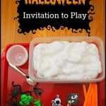 Halloween Invitation to Play