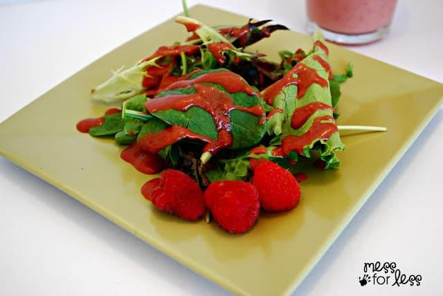 Raspberry Salad Dressing recipe #shop