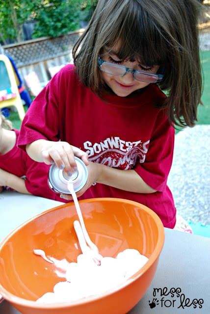 Fall into sensory play