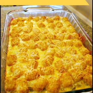 Tater Tot Breakfast Casserole – Food Fun Friday
