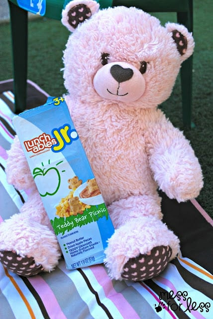 Bear with Teddy Bear Picnic #shop