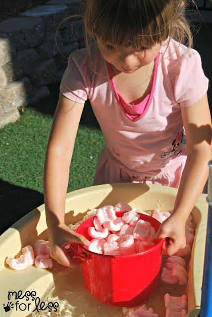 sensory water play