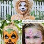 Free Halloween Face Paint Templates