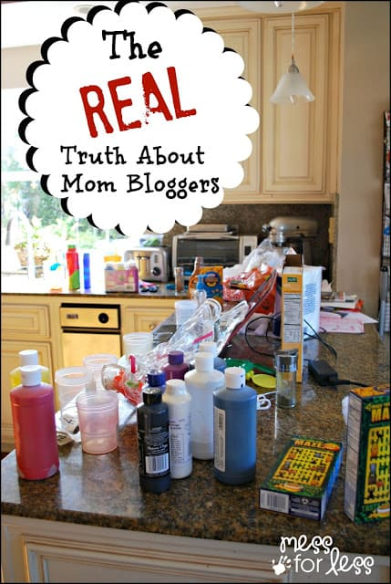 The REAL Truth About Mom Bloggers - what we don't want you to know.