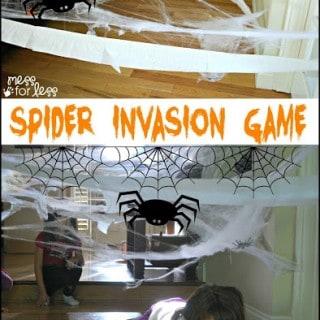 Spider Invasion Halloween Game