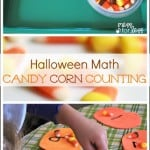 Halloween Activites: Candy Corn Counting