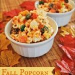 Fall Popcorn – Food Fun Friday