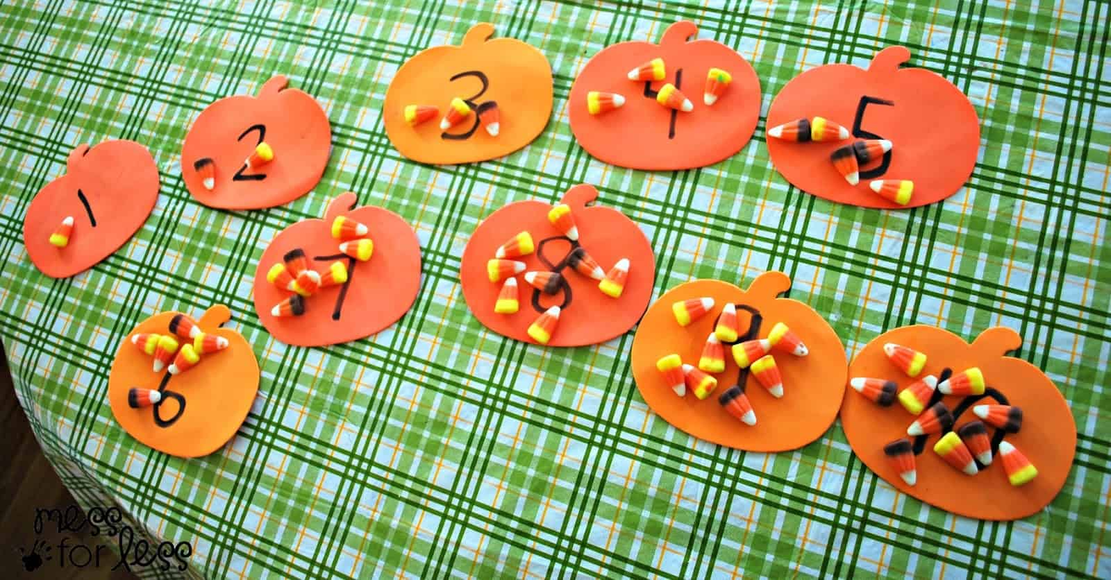 Uncategorized Candy Corn Math Worksheets halloween activites candy corn counting mess for less math game
