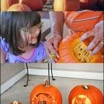 Making Memories – Family Pumpkin Carving