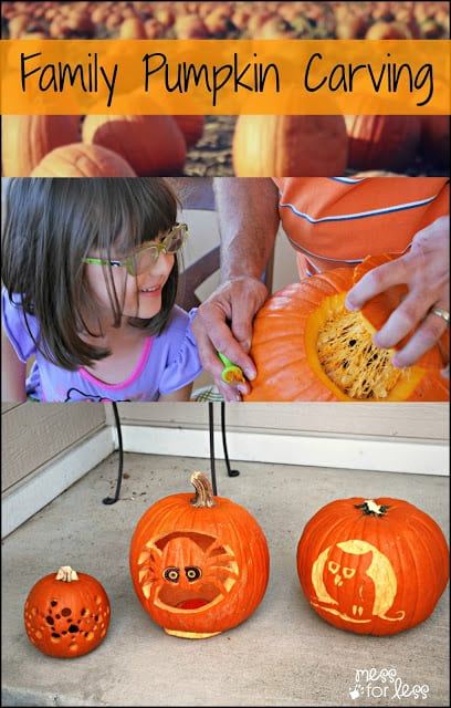 Making Memories with Family Pumpkin Carving - #PumpkinMastersKit