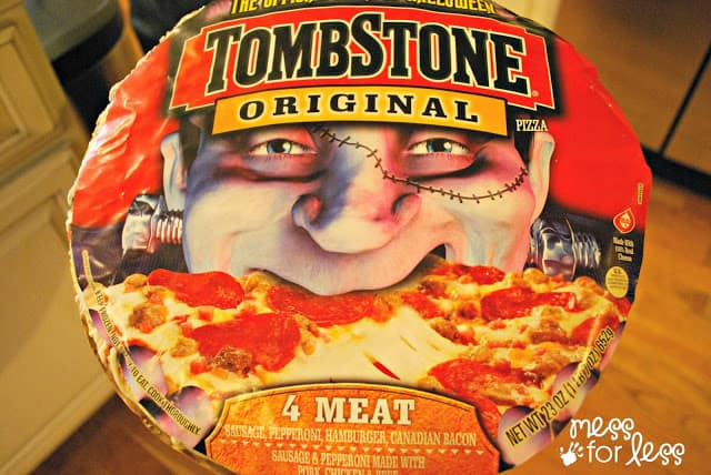 Tombstone pizzas from Walmart #shop
