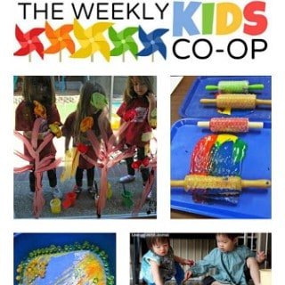 10 Ways to Play with Paint from The Kids Weekly Co-Op