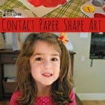 Contact Paper Shape Art