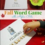 Fall Word Game