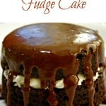 Glazed Chocolate Fudge Cake