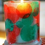 Kids Christmas Craft – Candle Holder