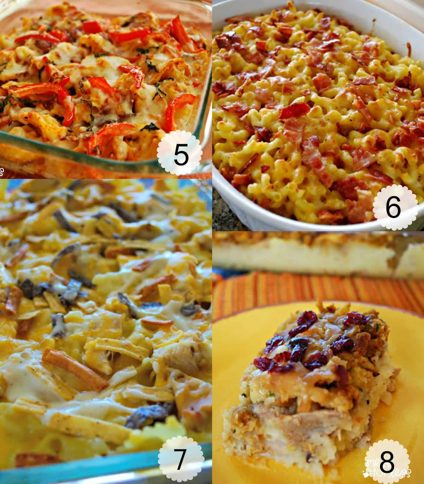 Casserole Recipes For Dinner Chicken Bacon Ranch