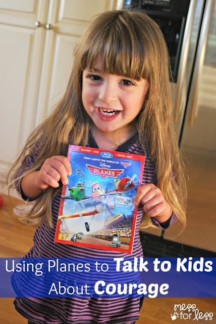 Talking to Kids About Courage #OwnDisneyPlanes #shop #cbias