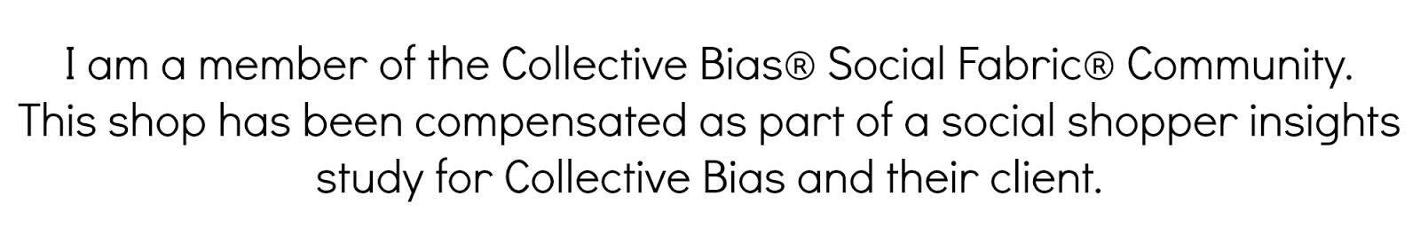 I am a member of the Collective Bias Social Fabric Community. This shop has been compensated as part of a social shopper insights study for Collective Bias and their client.