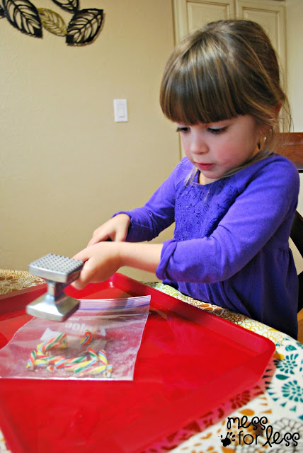 making bark with kids