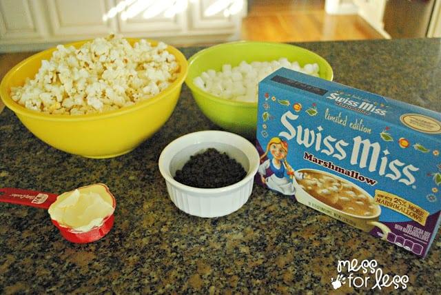 Popcorn balls ingredients #shop