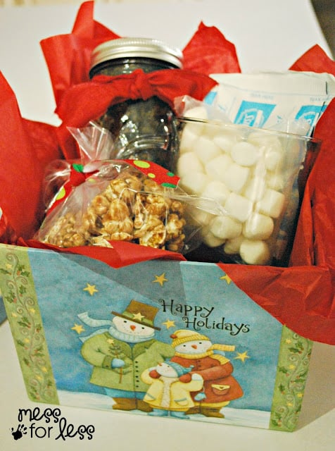 Easy holiday gift box #shop #EasyGifts #Cbias