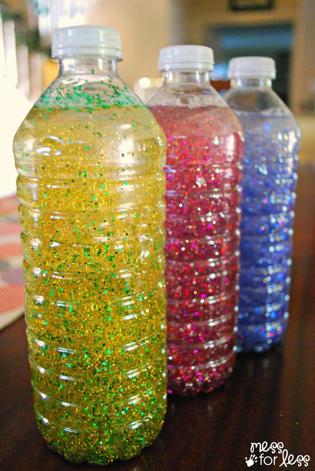 calming bottles mess for less