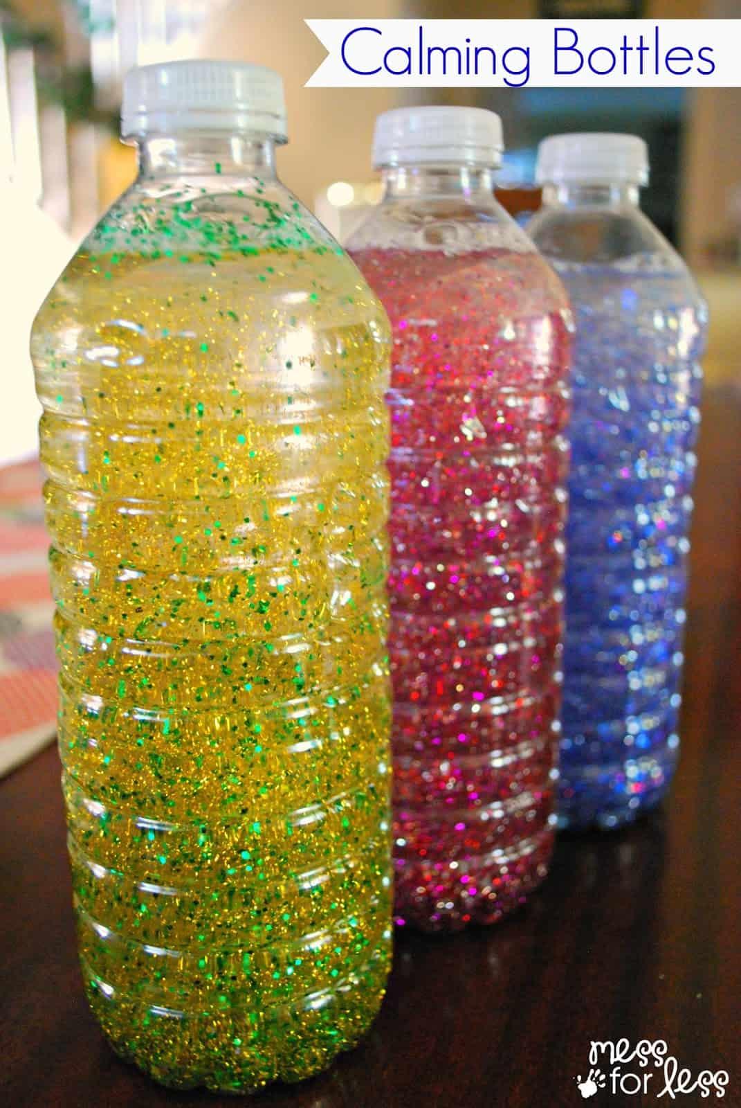 sensory bottles for preschool calming bottles mess for less 706