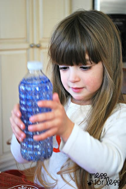 creating calming bottles