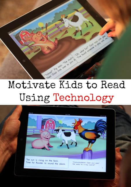 Motivate Kids to Read Using Technology #ad